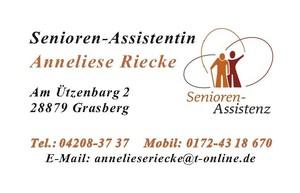 Senioren - Assistentin Anneliese Riecke