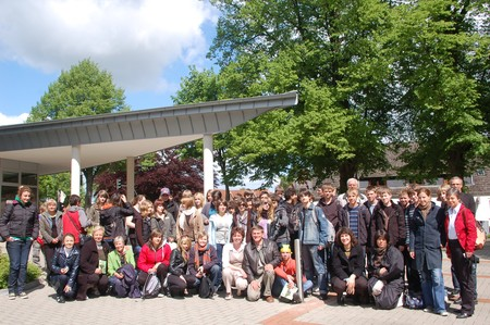 Gruppenfoto Comenius Projekt